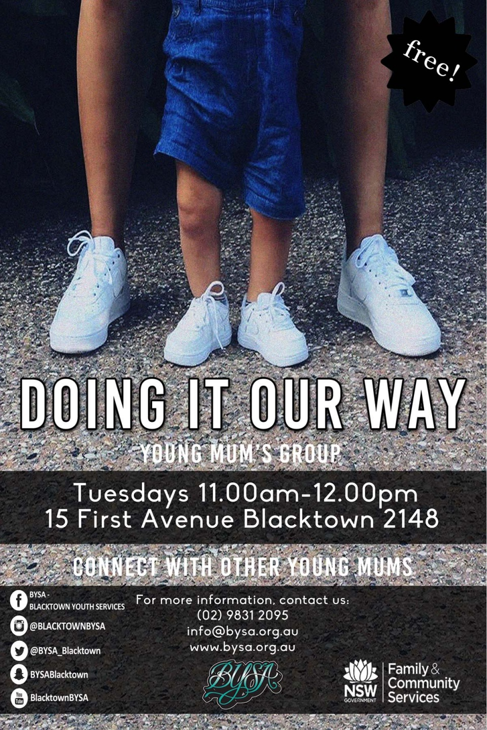 Young mums program.