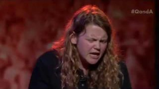 Q&A Live - Kate Tempest performs 'Progress'